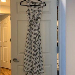 Reformation wrap dress